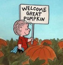 63b2b1ba3 Linus awaits the Great Pumpkin.