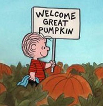 Reformed epistemology - Linus awaits the Great Pumpkin in the comic Peanuts.