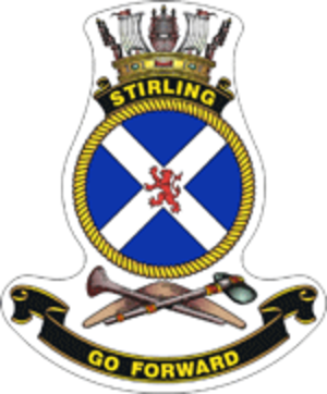 HMAS Stirling - Crest of HMAS Stirling