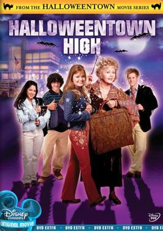 Halloweentown High - DVD cover