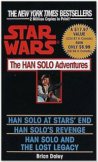 <i>The Han Solo Adventures</i> Series of Star Wars novels