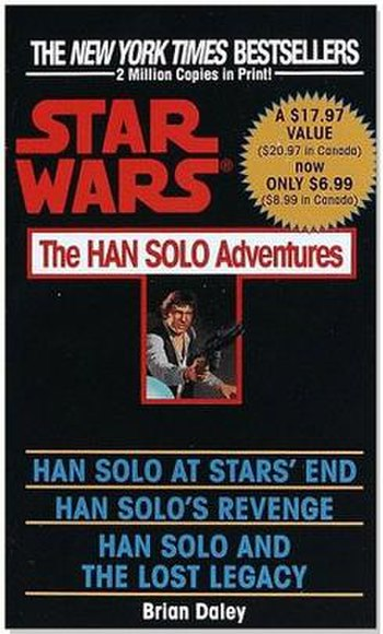 The cover of The Han Solo Adventures 1992 omnibus