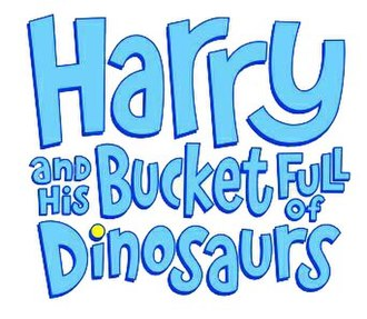 Harry and His Bucket Full of Dinosaurs - Harry and His Bucket Full of Dinosaurs logo
