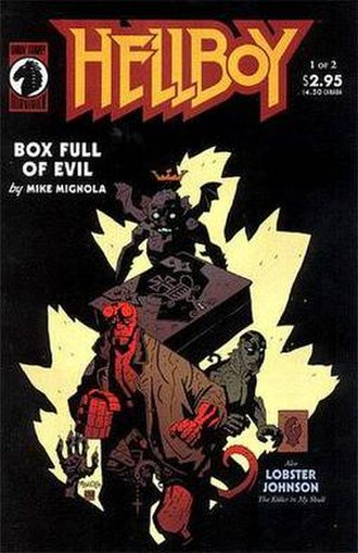 Hellboy: The Right Hand of Doom - Cover by Mignola.