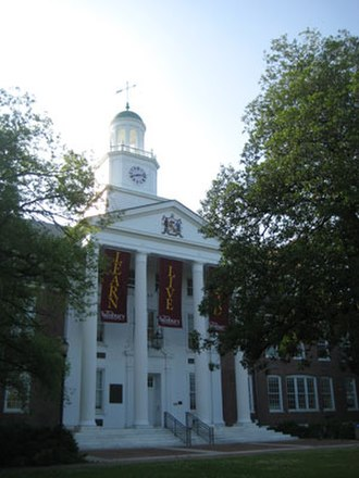 Salisbury University - Holloway Hall, named after the institution's first president, Dr. William J. Holloway