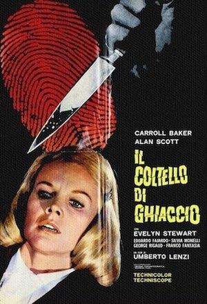 Il coltello di ghiaccio - Film poster