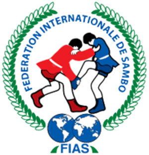 Sambo (martial art) - Image: International Federation of Amateur Sambo logo