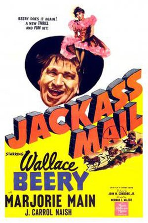 Jackass Mail - Image: Jackass Mail Film Poster