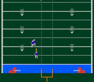 John Elway's Quarterback - Screenshot of John Elway's Quarterback for the NES.