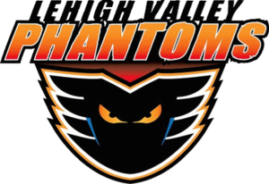 Adirondack Phantoms - The franchise's current logo, since relocating to Lehigh Valley, Pennsylvania