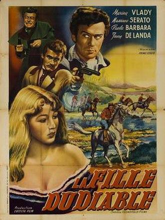 La figlia del diavolo - French film poster