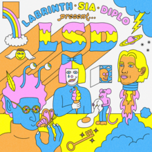 Image result for lsd cover art