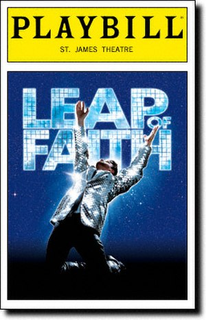 Leap of Faith (musical) - Broadway Playbill cover