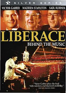 <i>Liberace: Behind the Music</i> 1988 television film