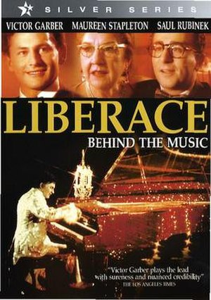 Liberace: Behind the Music - DVD cover