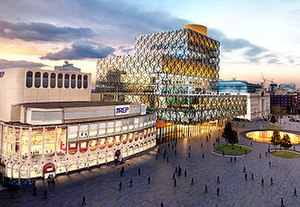 The Library of Birmingham at Centenary Square ...