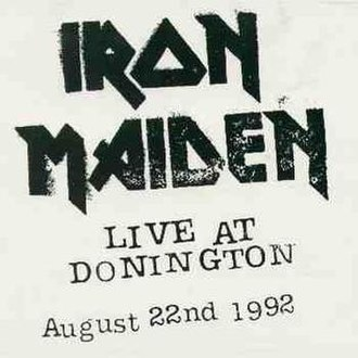 Live at Donington (Iron Maiden album) - Image: Live at Donington (Iron Maiden album) cover