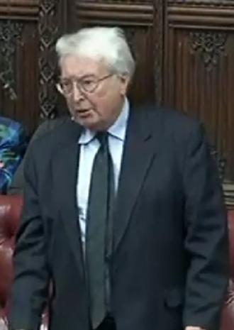 Peter Archer, Baron Archer of Sandwell - Archer in 2011