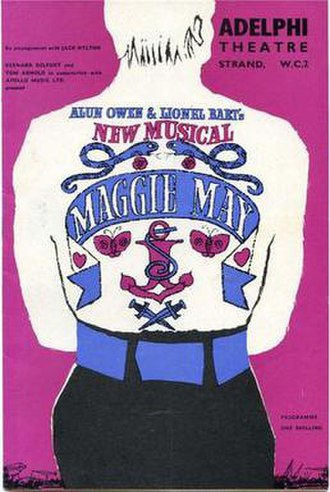 Maggie May (musical) - Original theatre programme and poster