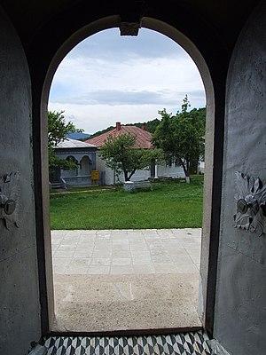 Rătești Monastery - Image: Manastirea ratesti 8