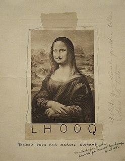 <i>L.H.O.O.Q.</i> Readymade by Marcel Duchamp