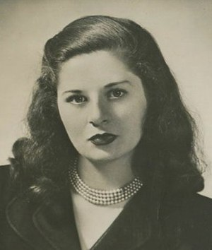 Maureen Daly - Image: Maureen Daly, American author and journalist, c. 1950