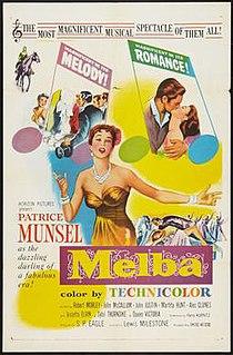 <i>Melba</i> (film) 1953 film by Lewis Milestone