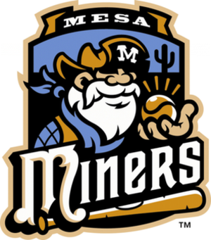 Mesa Miners - Image: Mesa Miners Main Logo