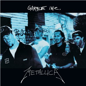 Garage Inc. - Image: Metallica Garage Inc cover