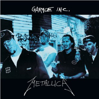 Garage Inc. - Image: Metallica Garage Inc cover