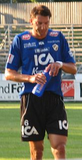 Mikael Rosén Swedish footballer