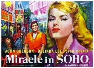 <i>Miracle in Soho</i> 1957 film