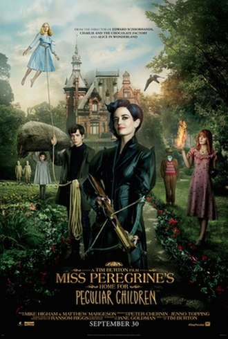 Miss Peregrine's Home for Peculiar Children (film) - Theatrical release poster