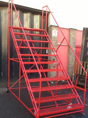 Mobile safety steps - Image: Mobile Safety Step