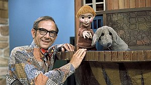 Mr. Dressup - Mr. Dressup, Casey, and Finnegan