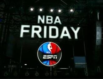 NBA Friday - NBA Friday Logo from 2011-16