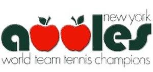 New York Apples - Image: New York Apples WTT Logo