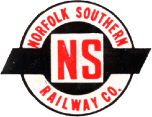Norfolk Southern Railway (1942–82) - Image: Norfolk Southern Railway (old) logo