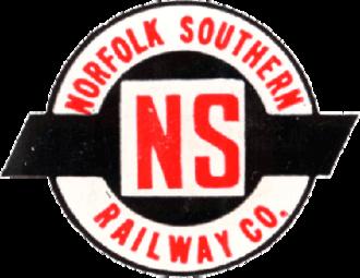Norfolk Southern Railway (1942–82) - Image: Norfolk Southern Railway (old) logo