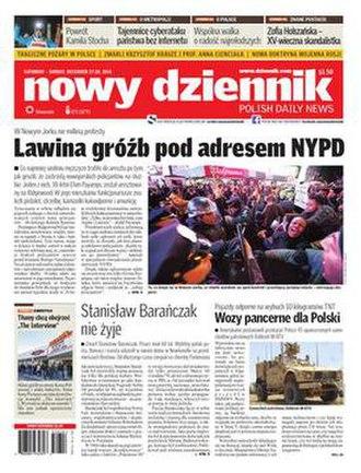 Nowy Dziennik - Image: Nowy Dziennik 2015 01 24