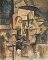Pablo Picasso, 1912, Le poète (The Poet), oil on canvas, 59.9 x 47.8 cm, Kunstmuseum, Basel.jpg