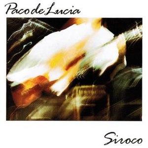 Siroco (album) - Image: Paco de lucia Siroco
