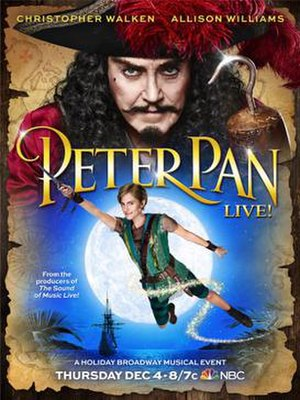 Peter Pan Live! - Promotional Poster
