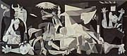 Picasso's Guernica was painted as a representation of the bombing of Guernica.