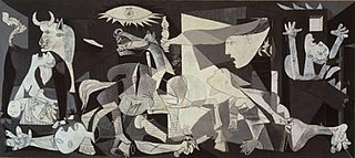 <i>Guernica</i> (Picasso) oil painting by Pablo Picasso