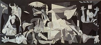 Guernica by Picasso - courtesy Wikipedia
