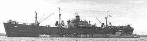 Armadillo-class tanker - Image: Porcupine IX 126