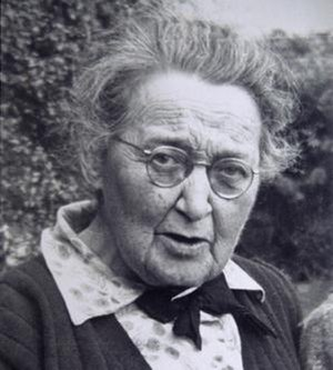 Maude Delap - Portrait in 1950