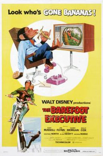 The Barefoot Executive - Theatrical Poster