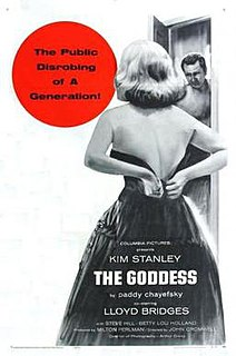 <i>The Goddess</i> (1958 film) 1958 film noir drama film by John Cromwell